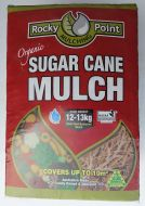 Sugar Cane Mulch Compressed - 12kg bag