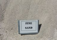 Fine Double Washed White Sand (bulk)