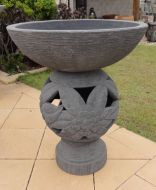 Bird Bath - 93cm high, 80cm dia bowl