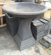 Bird Bath - 80cm high, 75cm dia bowl