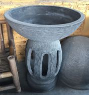 Bird Bath - 90cm high, 80cm dia bowl