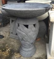 Bird Bath - 94cm high, 80cm dia bowl