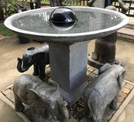 Bird Bath - 92cm high, 120cm dia bowl