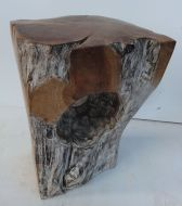Solid Teak Stool