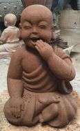 Monk - Sitting - Laughing