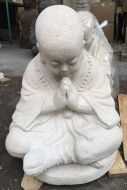 Monk - Sitting - praying