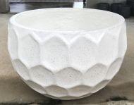 Golf Ball pot - Terrazzo - White