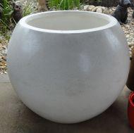 Large Sphere Terrazzo - White