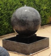 Large Sphere - dished top
