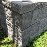 Heron Retaining Wall Corner