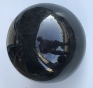 Ball - Glazed Shiny Black