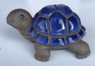 Turtle - Glazed - Blue