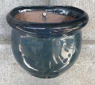 Wall Pot - Glazed - Green