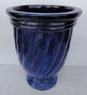 Swirl Water Jar - Blue ROS