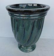 Swirl Water Jar - Green ROS