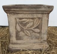 Square with Leaves - Antique Tuscan