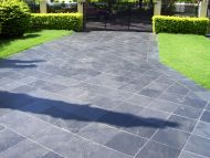 Byron Black Pavers